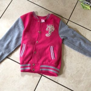 Other - Pink and gray girls princess jacket!